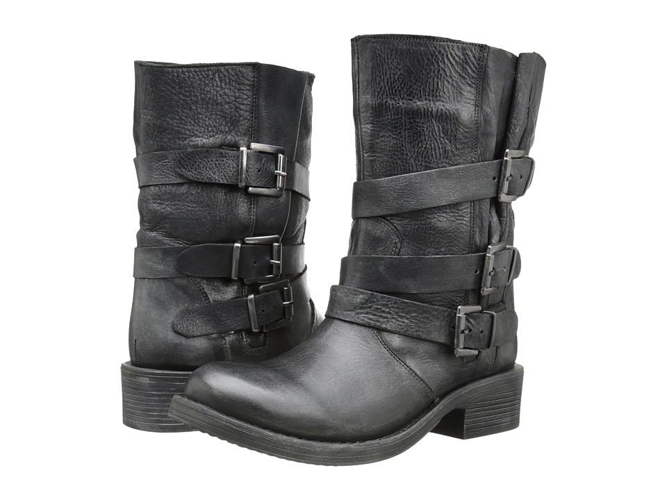 Miz Mooz - Clang (Black) Women's Pull-on Boots