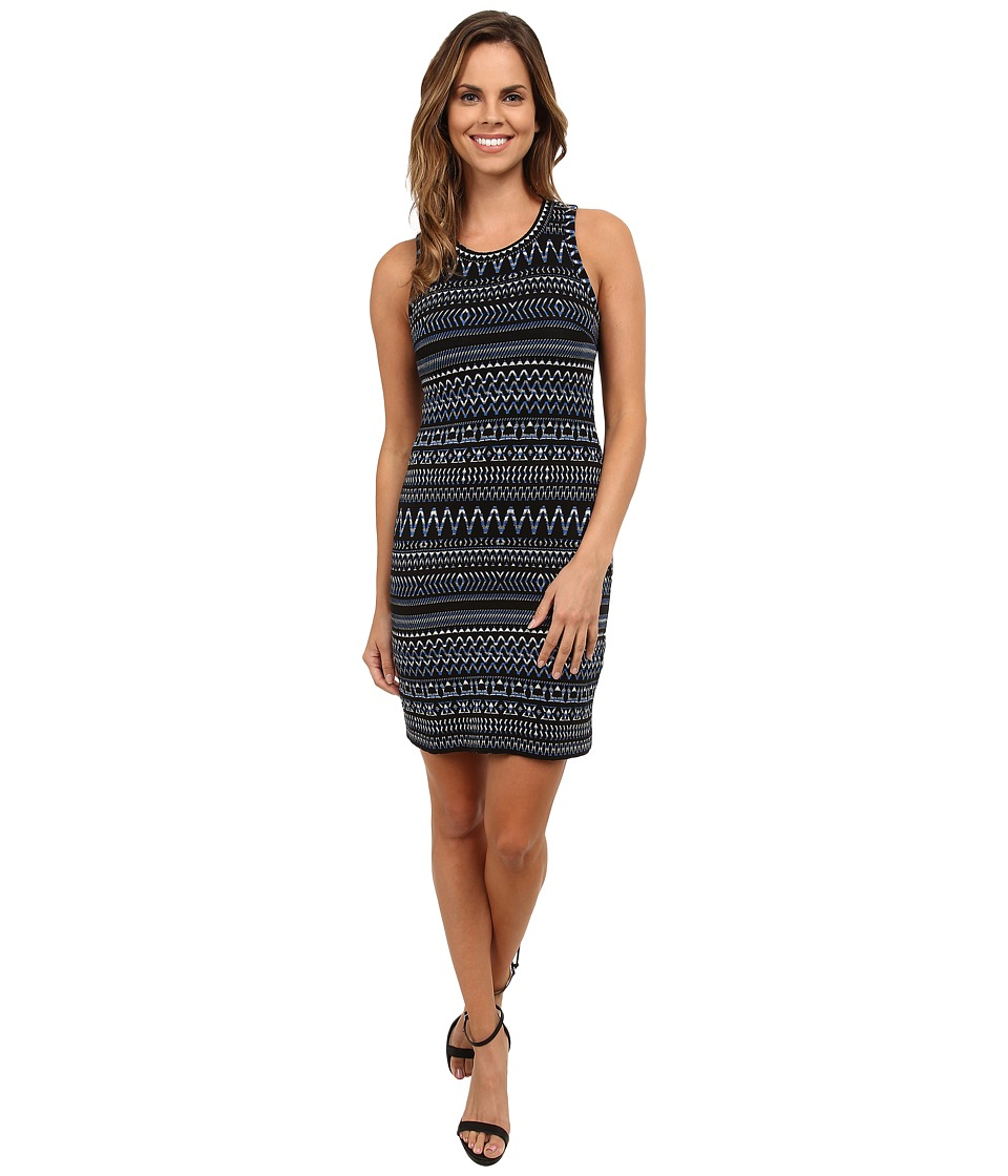 Karen Kane Moonlight Jacquard Dress (Jacquard) Women
