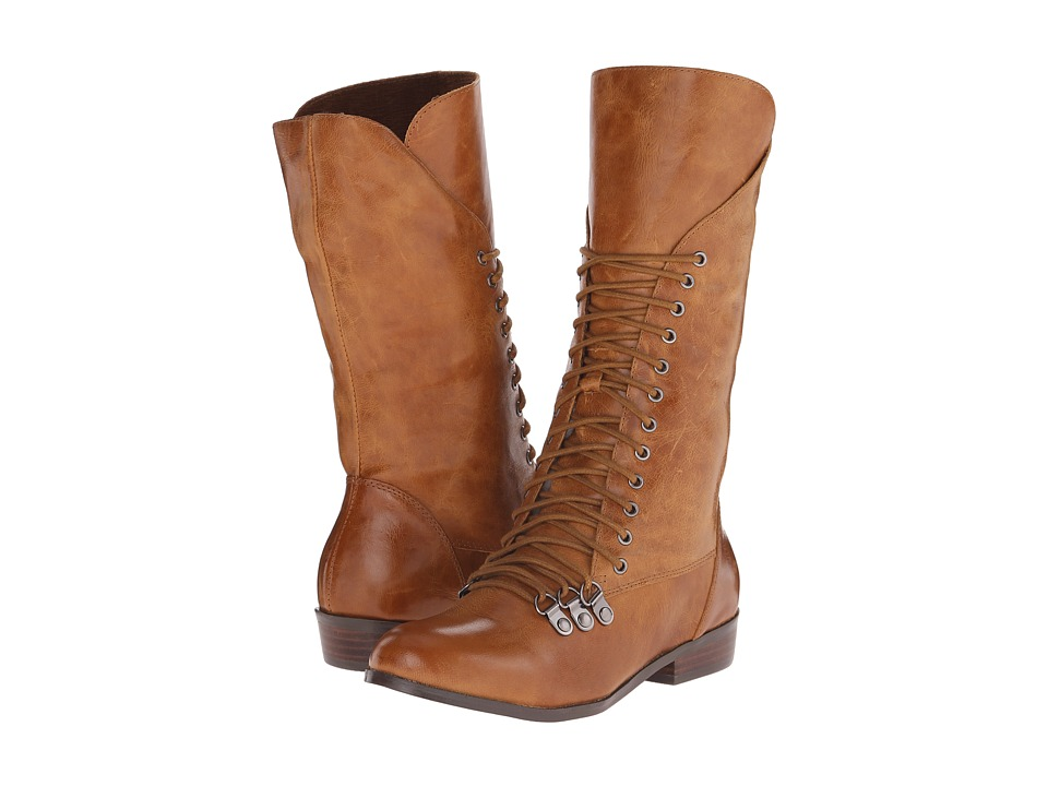Miz Mooz - Lorna (Ochre) Women's Lace-up Boots