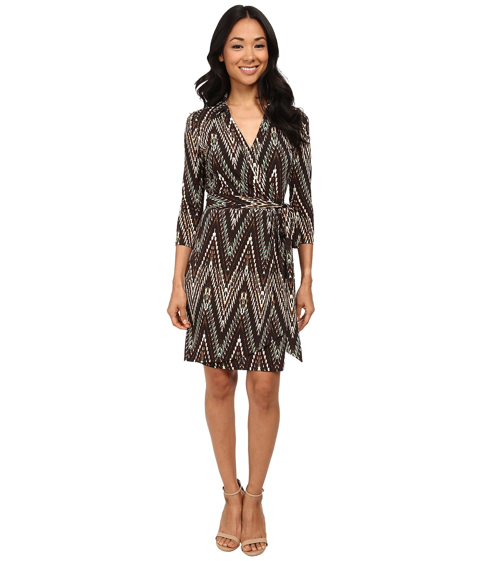 Karen Kane - Wrap Dress (Print) Women