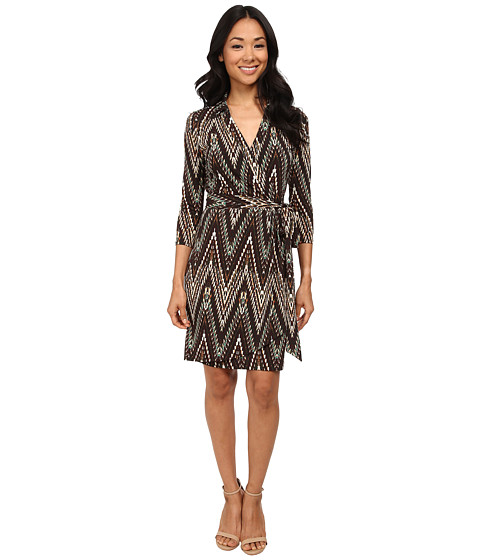 Karen Kane - Wrap Dress (Print) Women's Dress