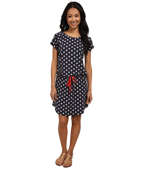 Hatley - Dropped Waist Dress (Thistle Navy) Women