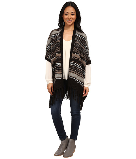 Karen Kane - Blanket Poncho (Multicolor) Women's Jacket