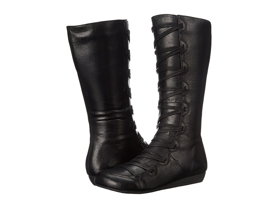 Miz Mooz - Donovan (Black) Women's Lace-up Boots