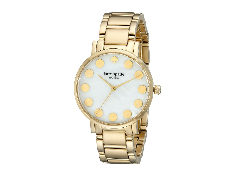 Kate Spade New York - Gramercy - 1YRU0737 (Gold 1) Watches