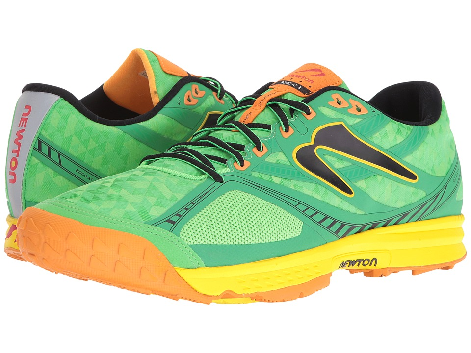 Newton Running - Boco AT II (Green/Orange) Men's Running Shoes