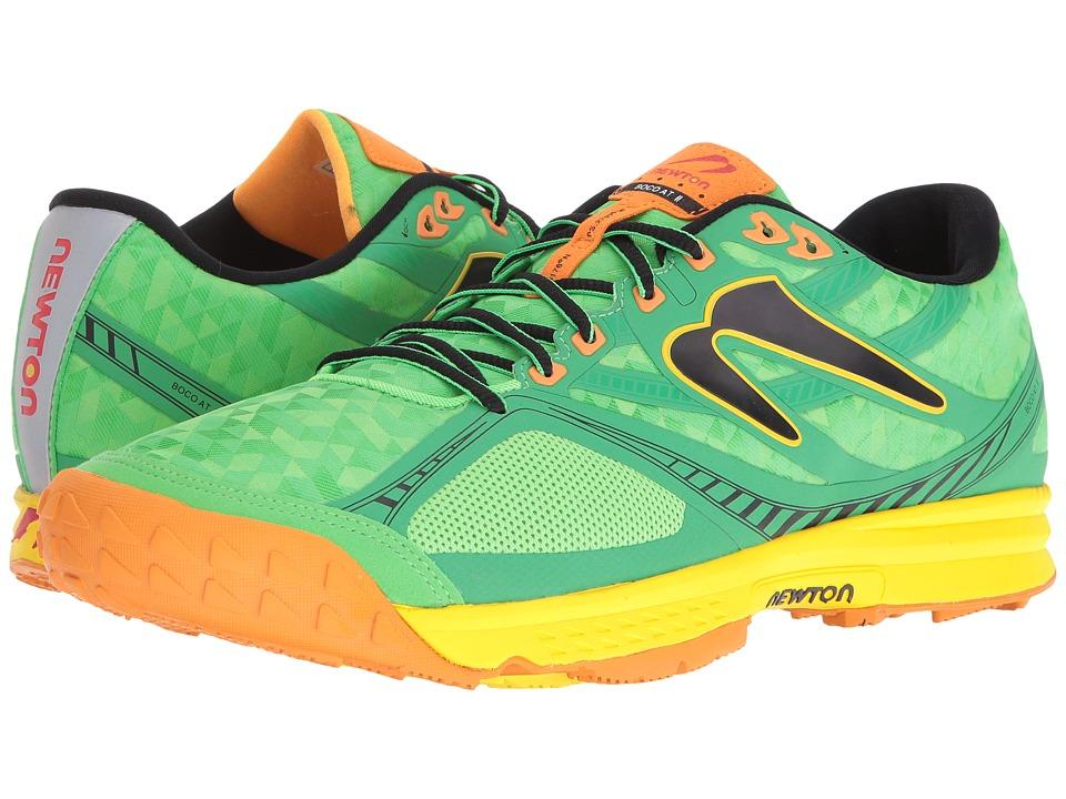 Newton Running - Boco AT II (Green/Orange) Men's Running Shoes