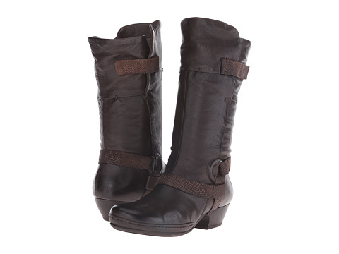 Miz Mooz - Eli (Brown) Women's Zip Boots