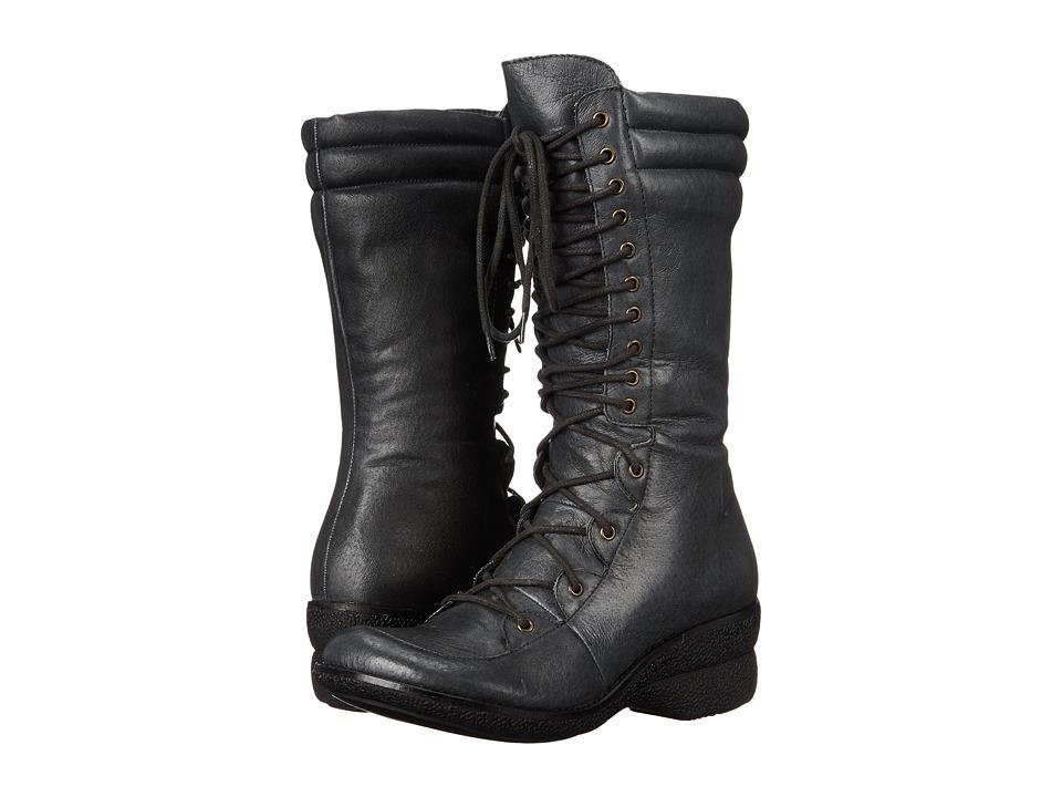 Miz Mooz - Ophelia (Grey) Women's Lace-up Boots