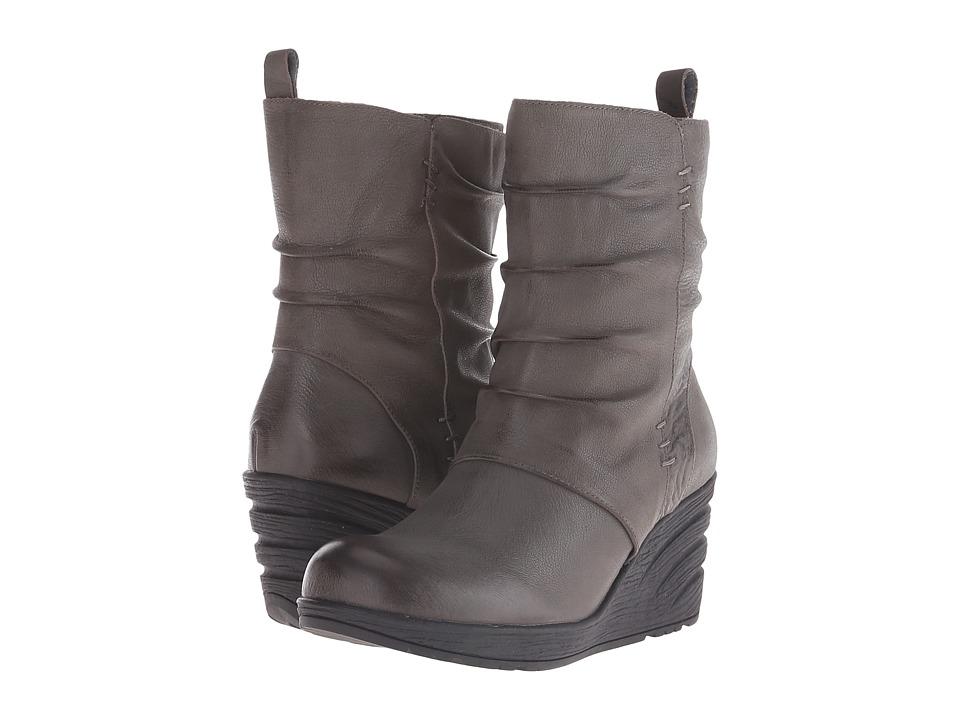 Miz Mooz - Tora (Grey) Women's Zip Boots