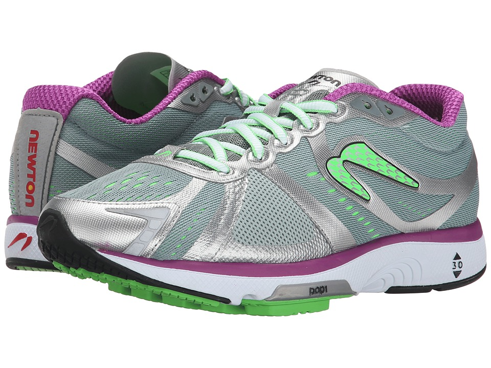 Newton Running - Motion IV (Grey/Purple) Women's Running Shoes