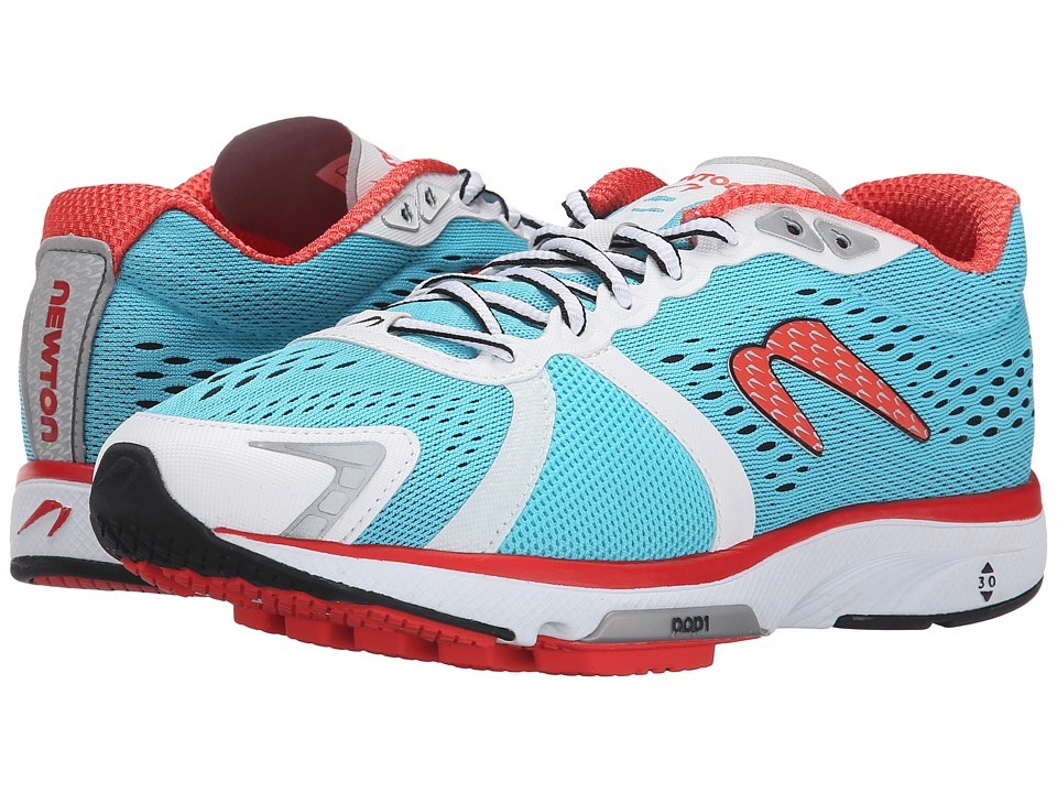 Newton Running - Gravity IV (Blue/Red) Women's Running Shoes
