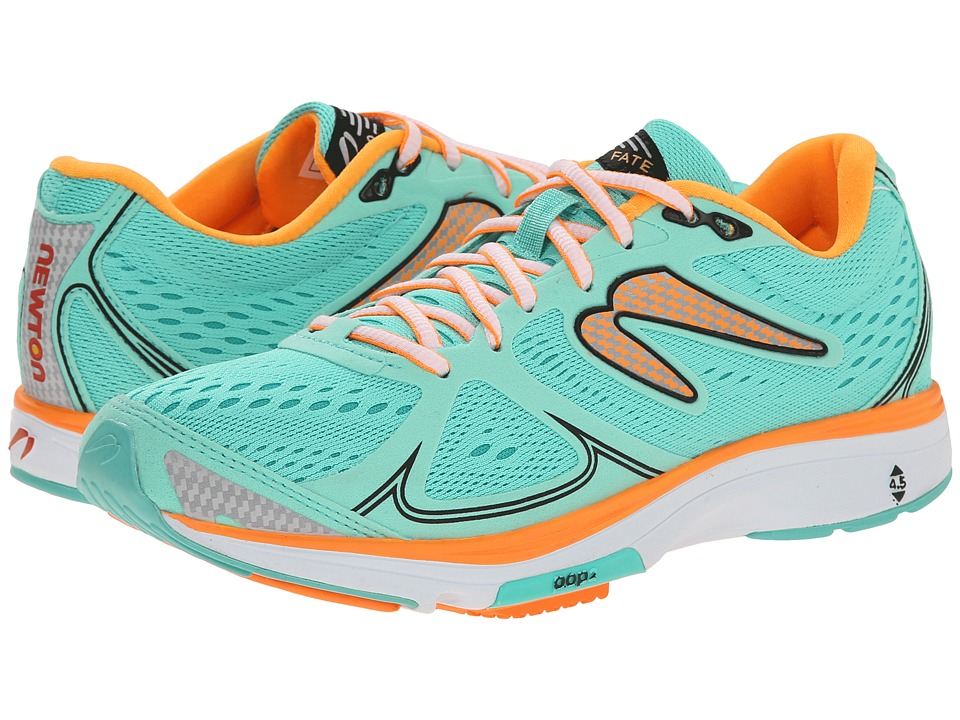 Newton Running - Fate (Mint/Orange) Women's Running Shoes