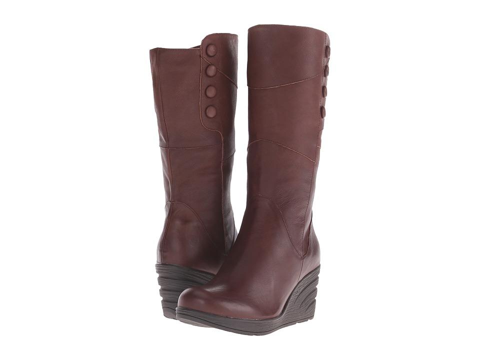 Miz Mooz - Tarani (Brown) Women's Zip Boots