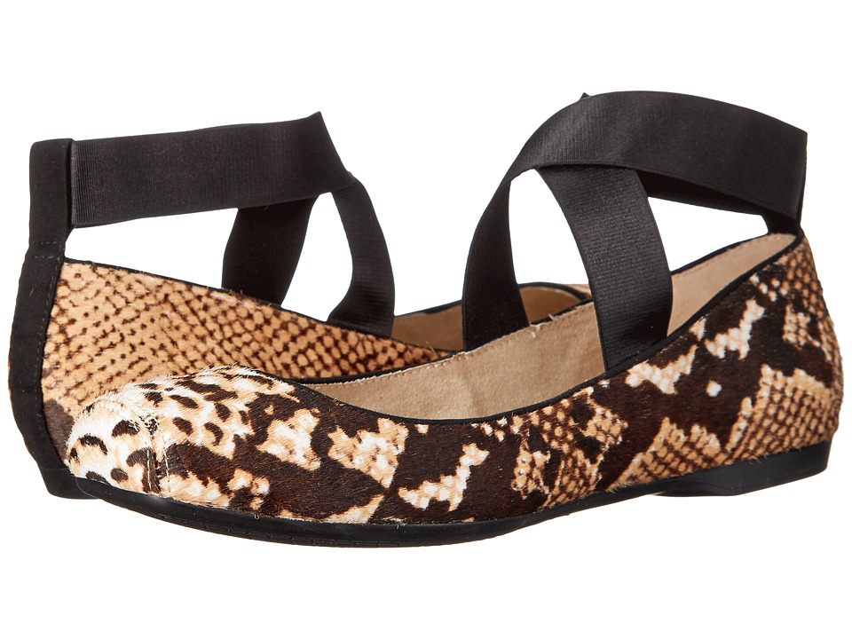 Jessica Simpson - Mandalay 3 (Natural Black Snake Print Haircalf-Elastic) Women
