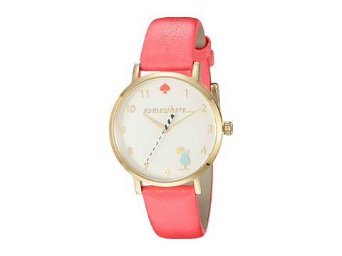 Kate Spade New York - Metro - 1YRU0834 (Flamingo Pink 1) Watches