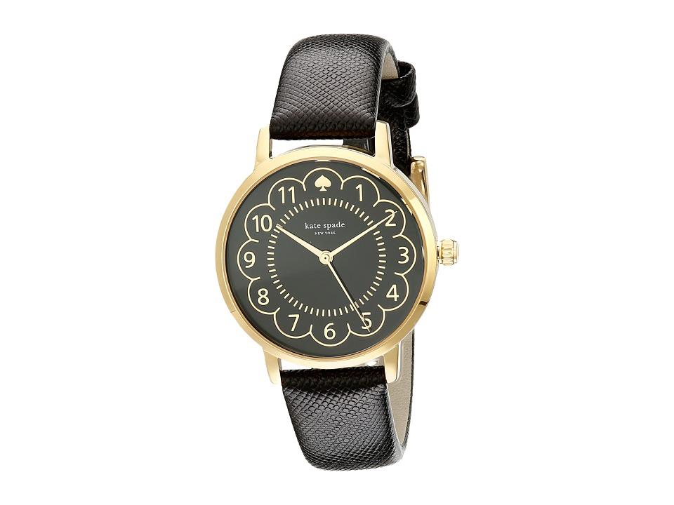 Kate Spade New York - Metro - 1YRU0790 (Gold/Black 1) Watches