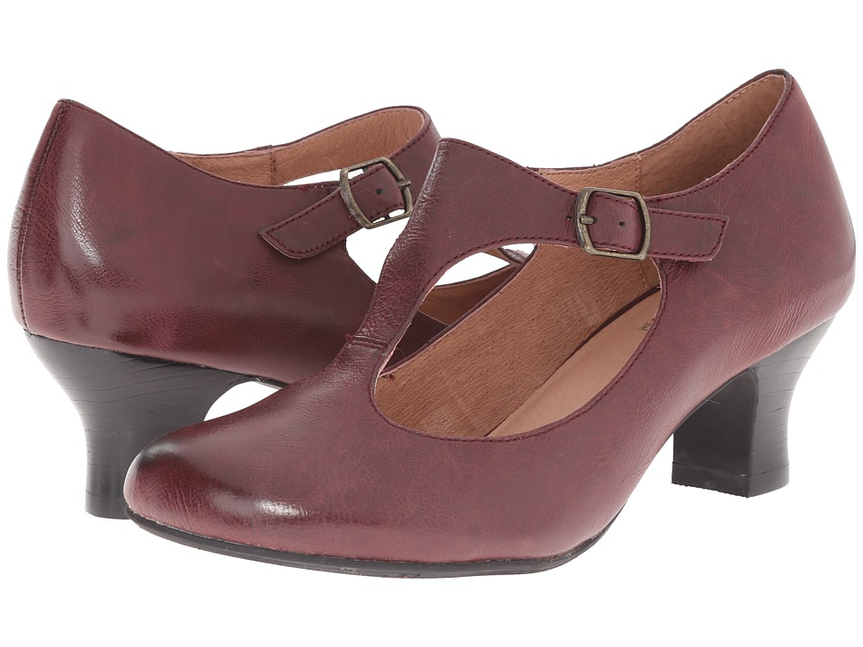 Miz Mooz - Trina (Wine) Women's 1-2 inch heel Shoes