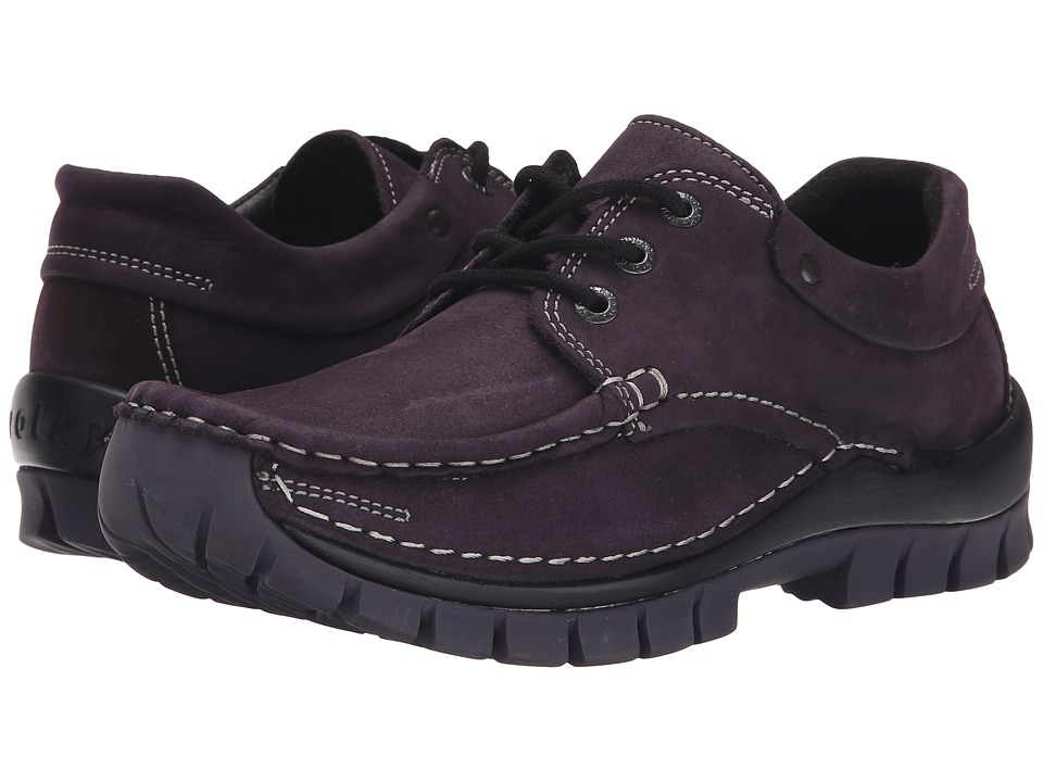 Wolky - Fly Winter (Aubergine Nepal Oiled Leather) Women
