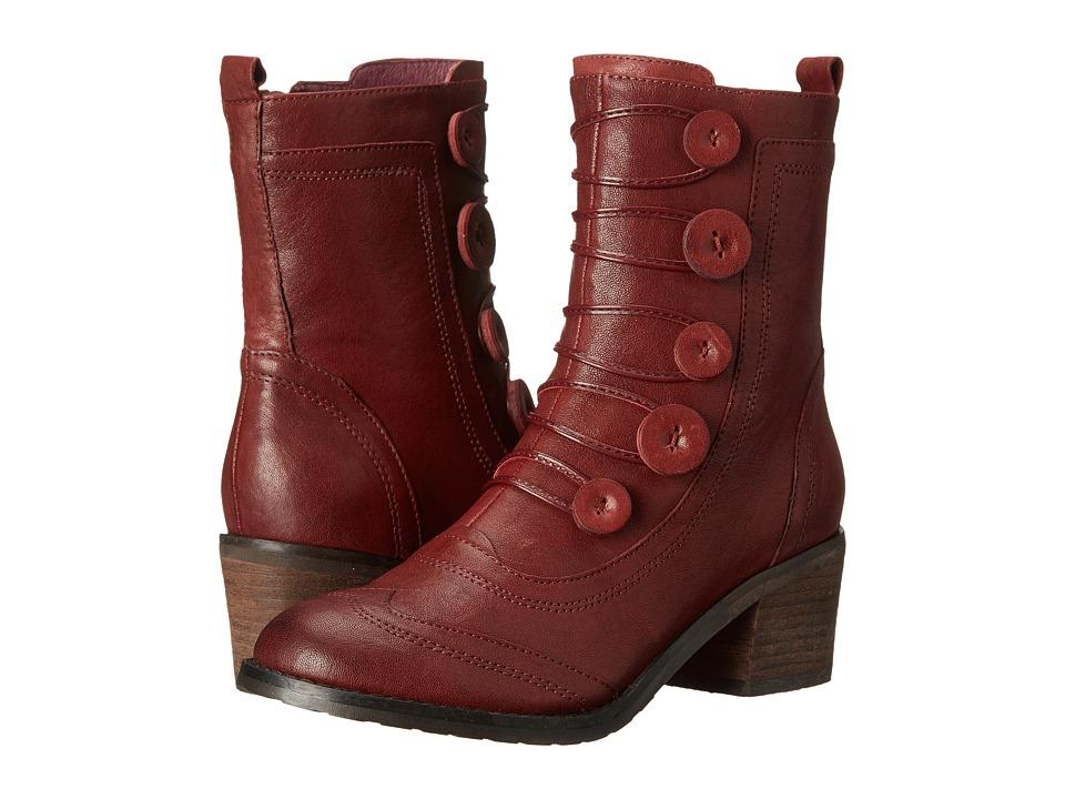 Miz Mooz - Megan (Wine 2) Women's Zip Boots