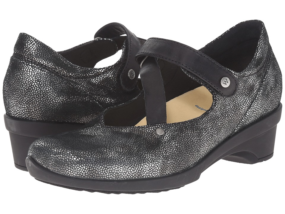 Wolky - Georgia (Black Caviar) Women's Sandals