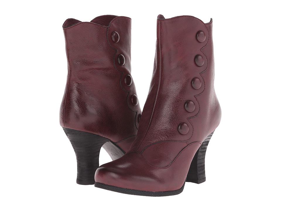 Miz Mooz - Kitty (Wine) Women's Zip Boots