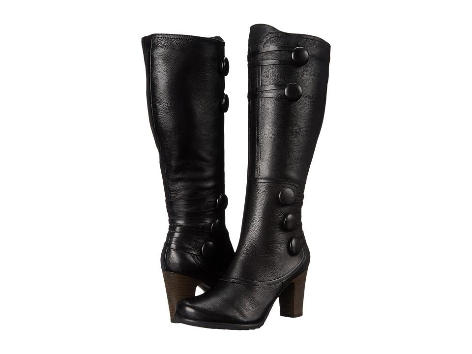 Miz Mooz - Nicolette (Black) Women's Zip Boots