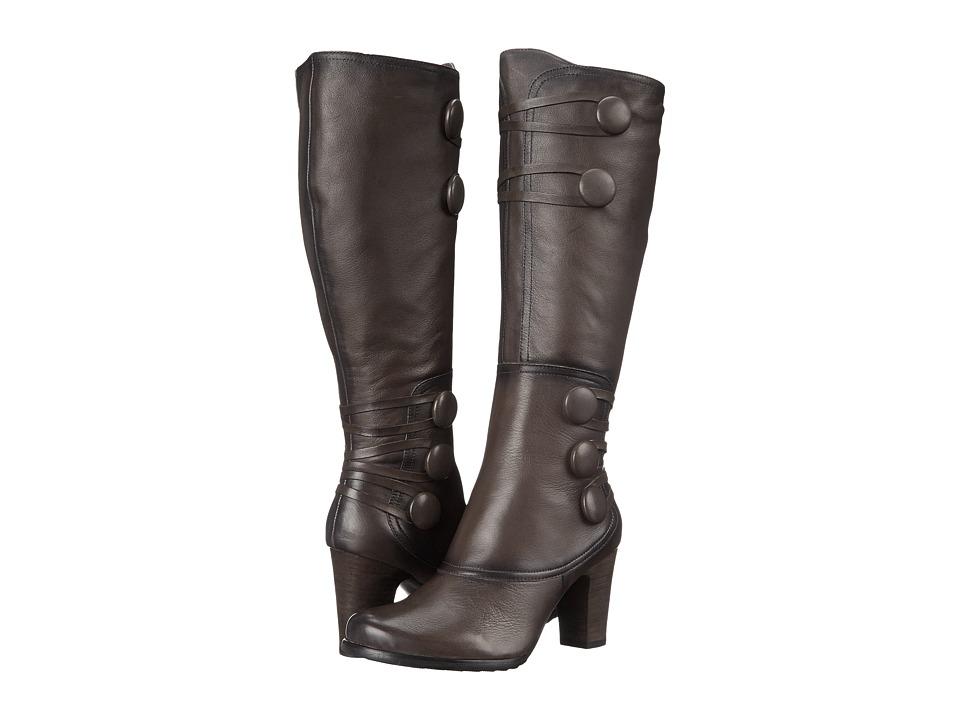 Miz Mooz - Nicolette (Grey) Women's Zip Boots