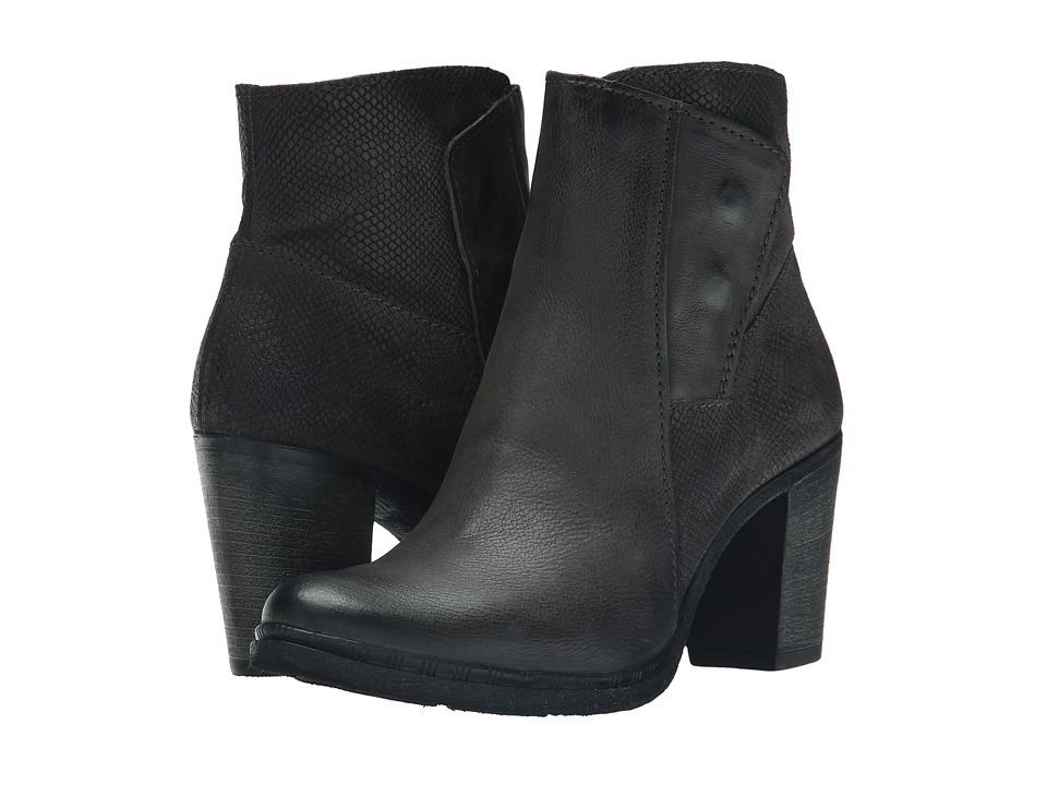Miz Mooz - Roselle (Grey) Women's Zip Boots