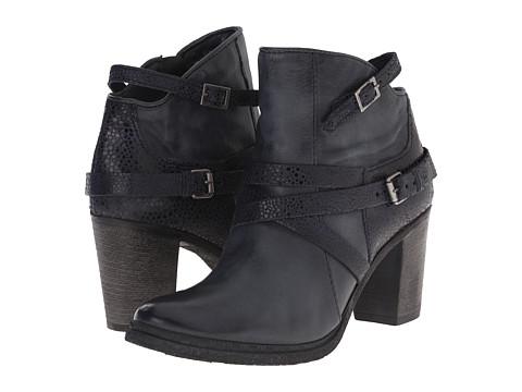 Miz Mooz - Rosana (Carbon) Women's Zip Boots