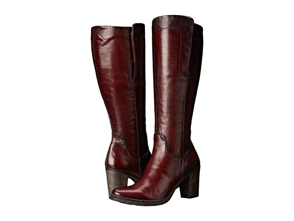 Miz Mooz - Ruth (Wine) Women's Zip Boots