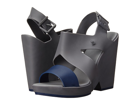 Melissa Shoes - Melissa Flip (Grey/Blue) Women