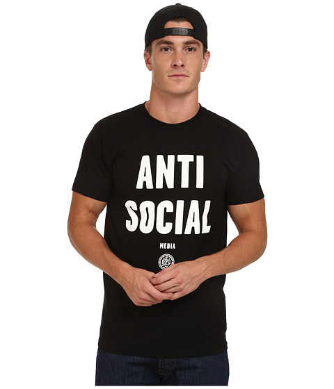 Obey - Anti-Social Media Tee (Black) Men's T Shirt
