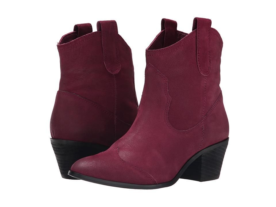 Miz Mooz - Chava (Wine) Cowboy Boots