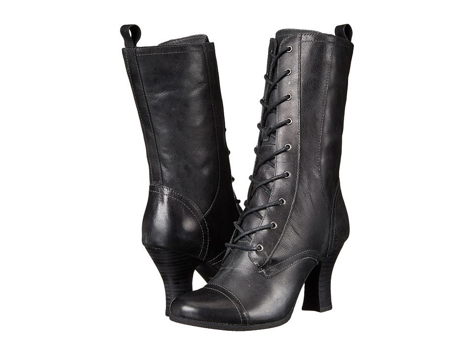 Miz Mooz - Kathleen (Smoke) Women's Zip Boots