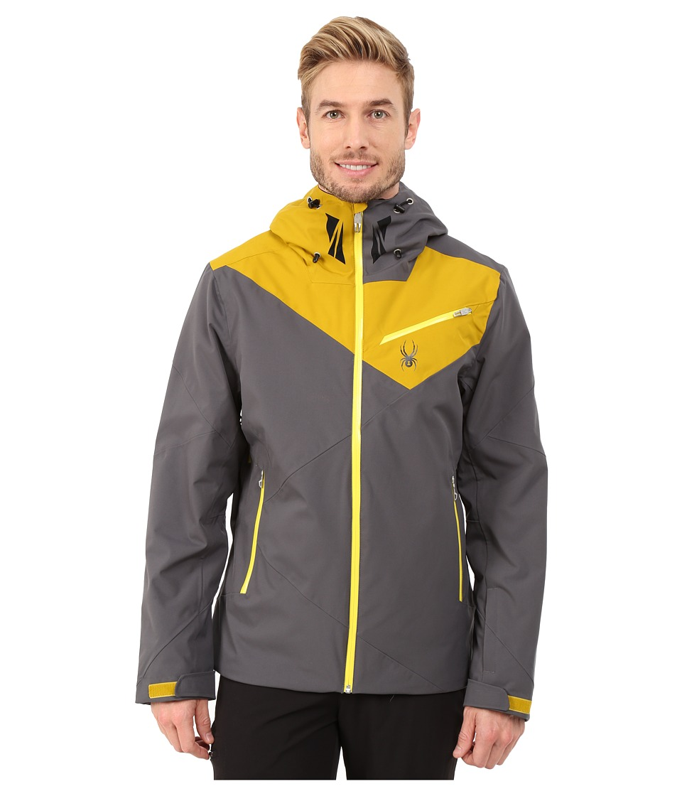 Spyder - Enforcer Jacket (Polar/Brazen/Sun) Men's Coat