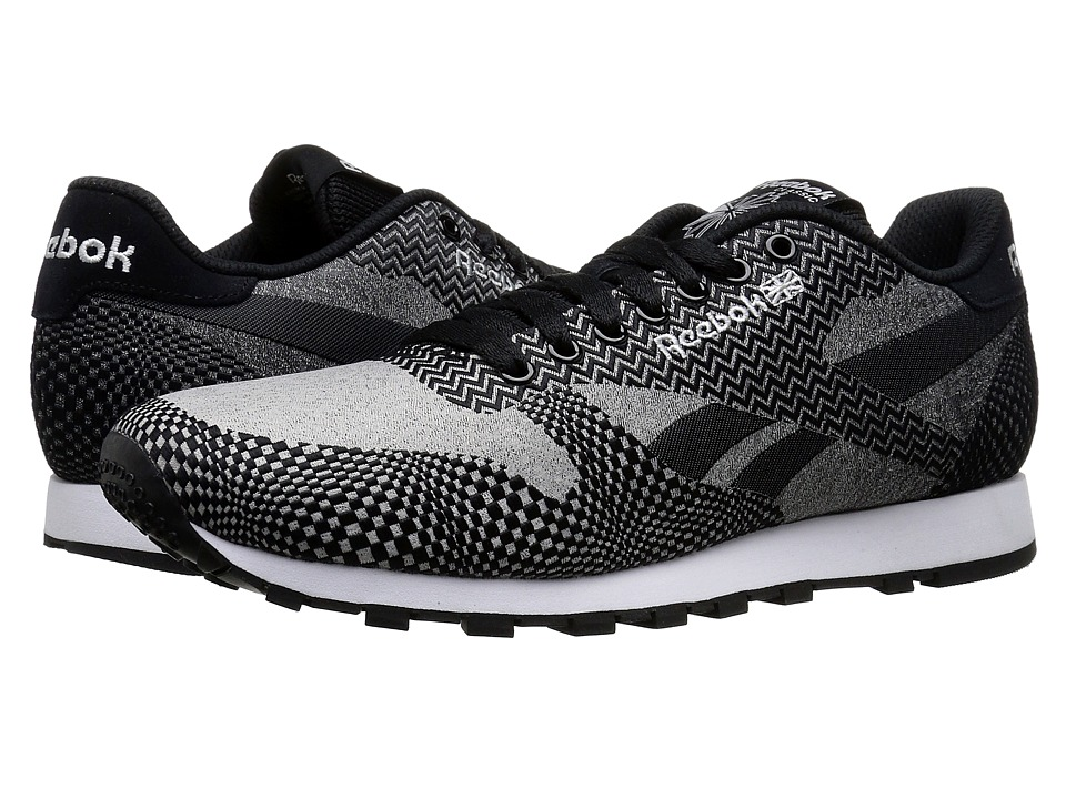 Reebok Lifestyle - Classic Runner Jacquard (Fade - Light Solid Grey/Black/White) Men's Shoes