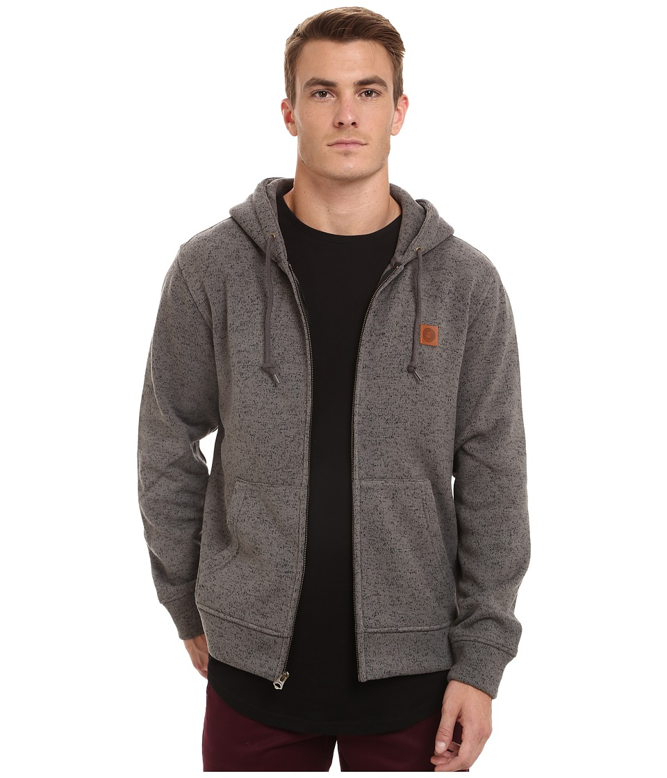 Obey - Conway Zip Hoodie (Black) Men's Sweatshirt
