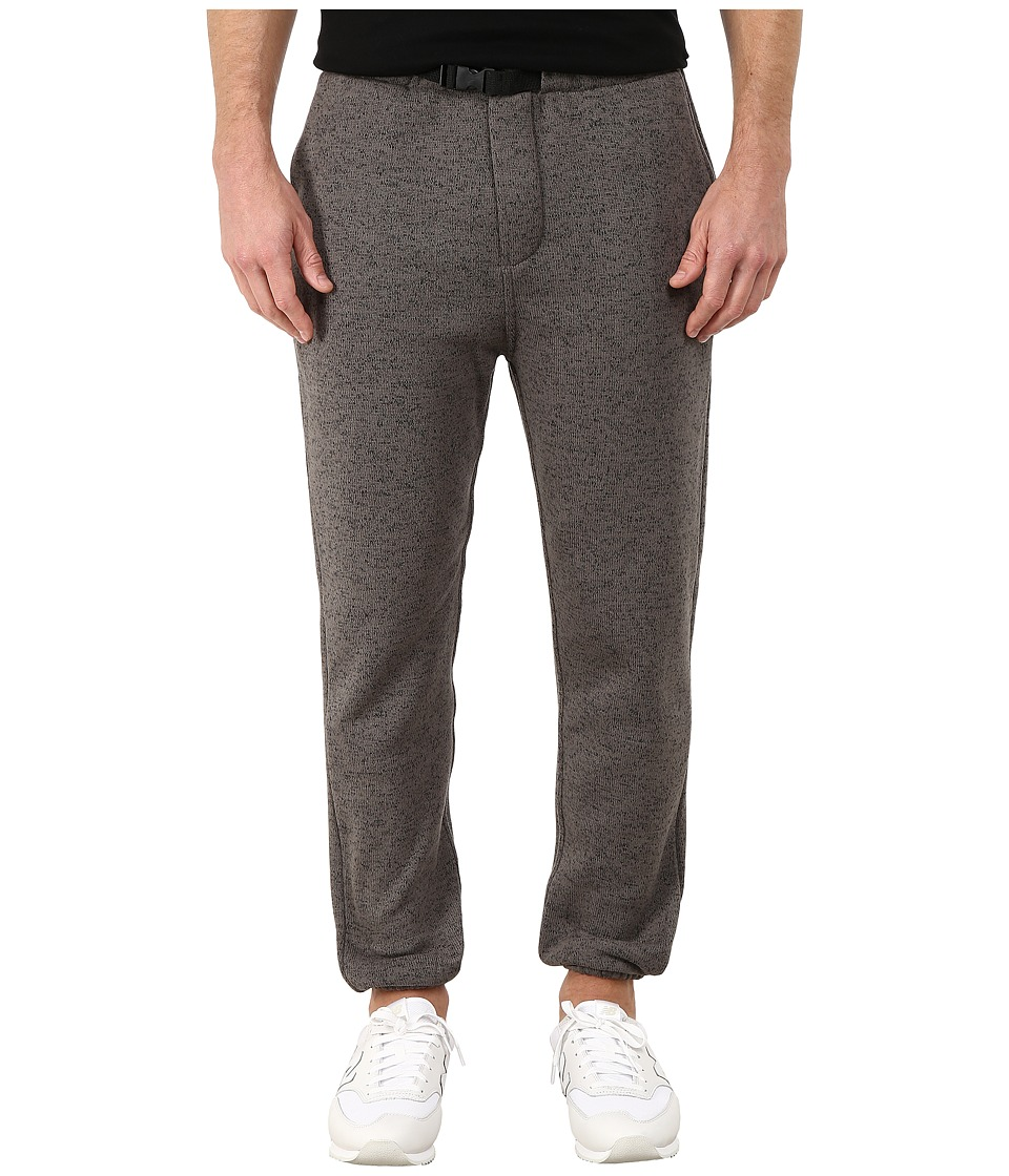Obey - Conway Fleece Pants (Black) Men's Fleece