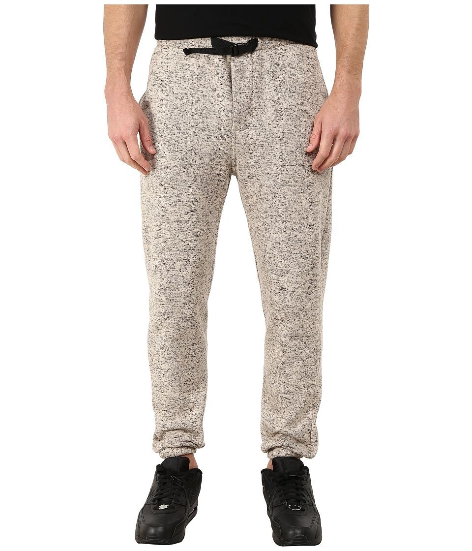 Obey - Conway Fleece Pants (Heather Cream) Men's Fleece