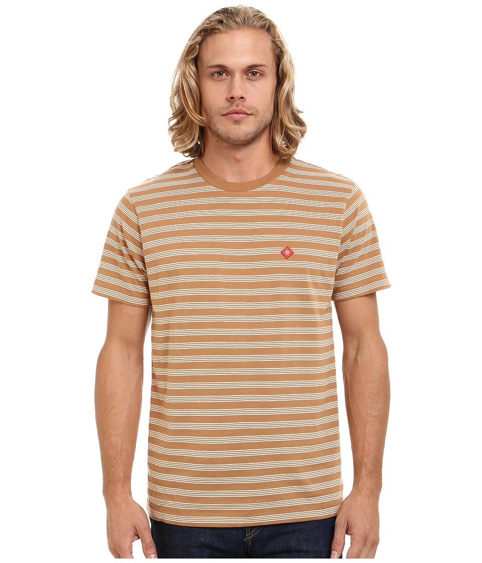 Obey - Ludgate Tee (Tobacco Brown Multi) Men's T Shirt