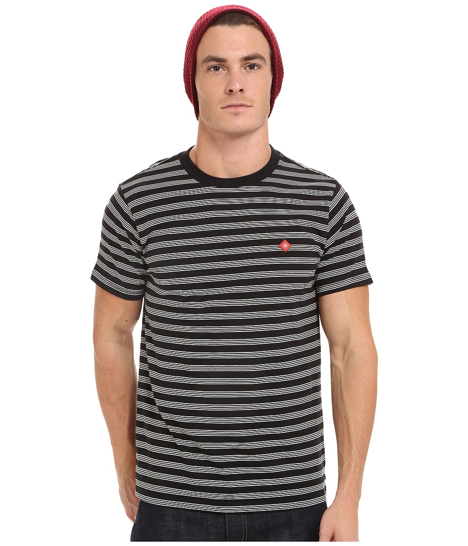 Obey - Ludgate Tee (Black Multi) Men's T Shirt