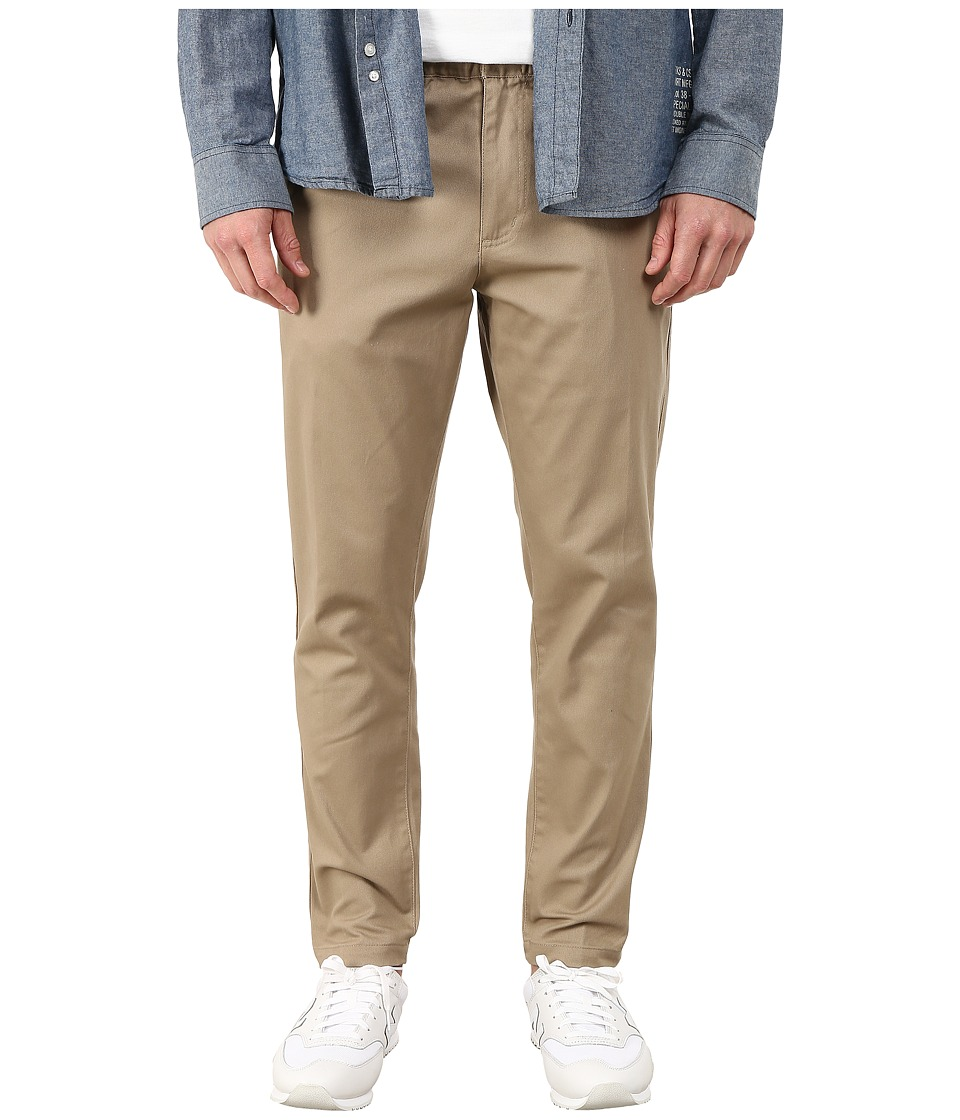 Obey - Ludlow Twill Pants (Khaki) Men's Clothing