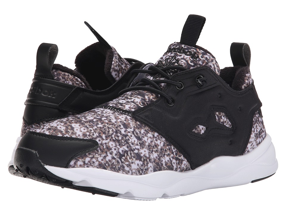 Reebok Lifestyle - Furylite Holiday (Black/Chalk/Graphic) Women's Shoes