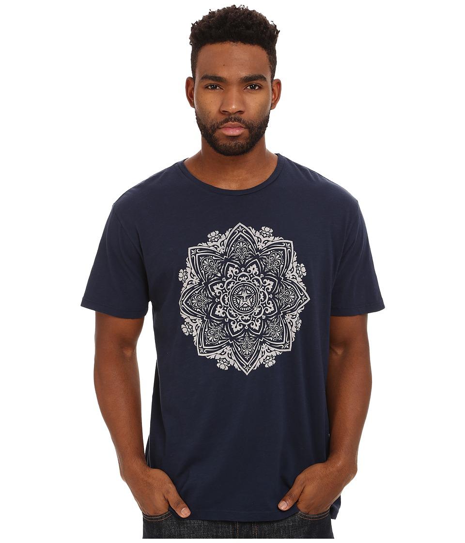 Obey - Mandala Tee (Navy) Men's T Shirt