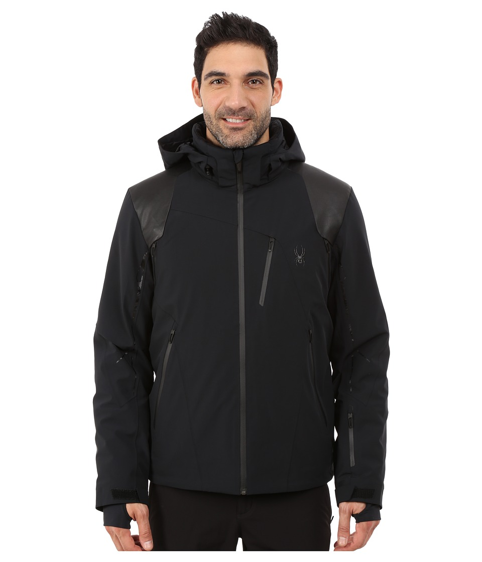 Spyder - Vanqysh Jacket (Black/Black/Black) Men