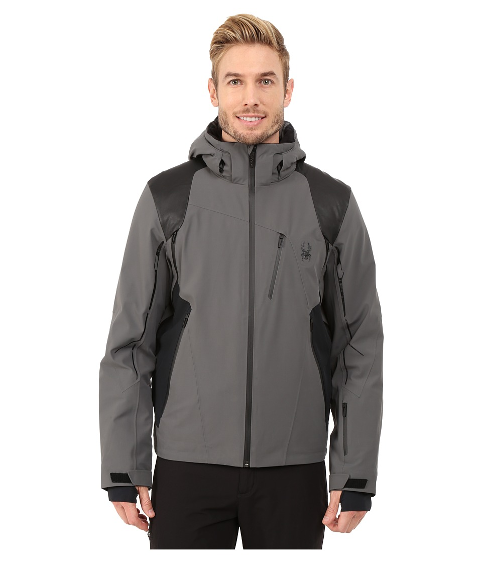 Spyder - Vanqysh Jacket (Polar/Black/Black) Men's Jacket