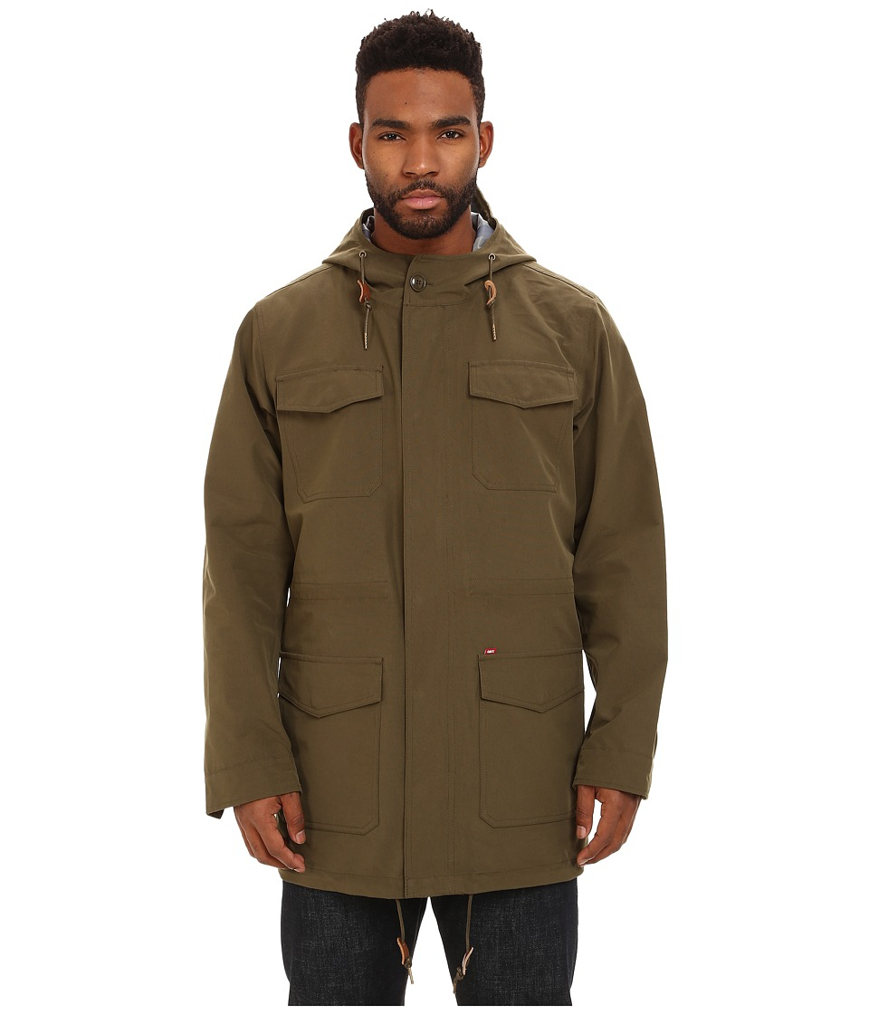 Obey - Stiller Jacket (Olive Night) Men's Coat
