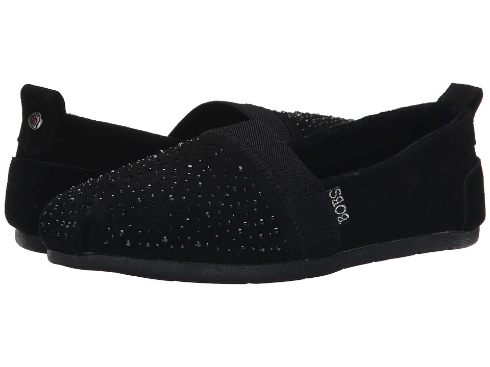 BOBS from SKECHERS Luxe Bobs Galaxy (Black/Black) Women