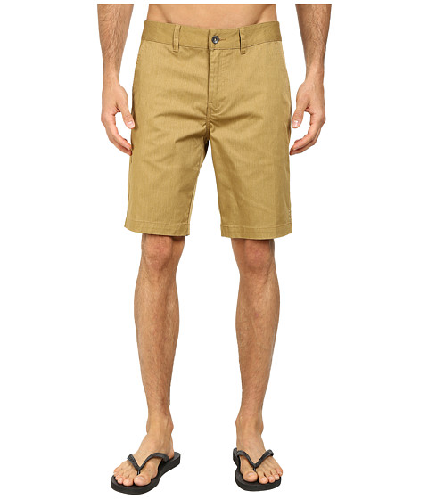 Reef - Auto Redial 4 Walkshorts (Brown) Men's Shorts